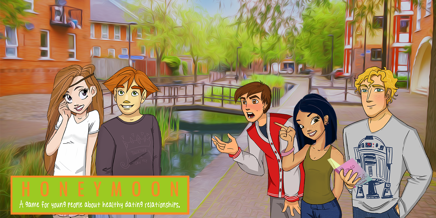 Screenshot of Honeymoon, the 2016 award winning video game to prevent teen dating violence.