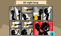 Thumbnail screenshot of The Guardian game about relationships.